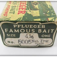 Pflueger Natural Frog Scale Palomine In Correct Box 5005 Nat