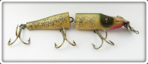 Vintage Creek Chub Silver Flash Jointed Husky Pikie Lure 3018