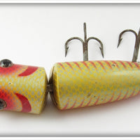 Heddon Yellow Scale 8369 Salmon King Zig Wag