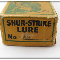 Shur Strike Aluminum Red Head Slant Nose Empty Box