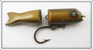 Vintage Shakespeare Fisherman Altered Tarpalunge Lure 6640