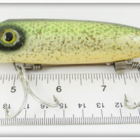 South Bend Scale Finish Green With Silver Speckles King Bass Oreno