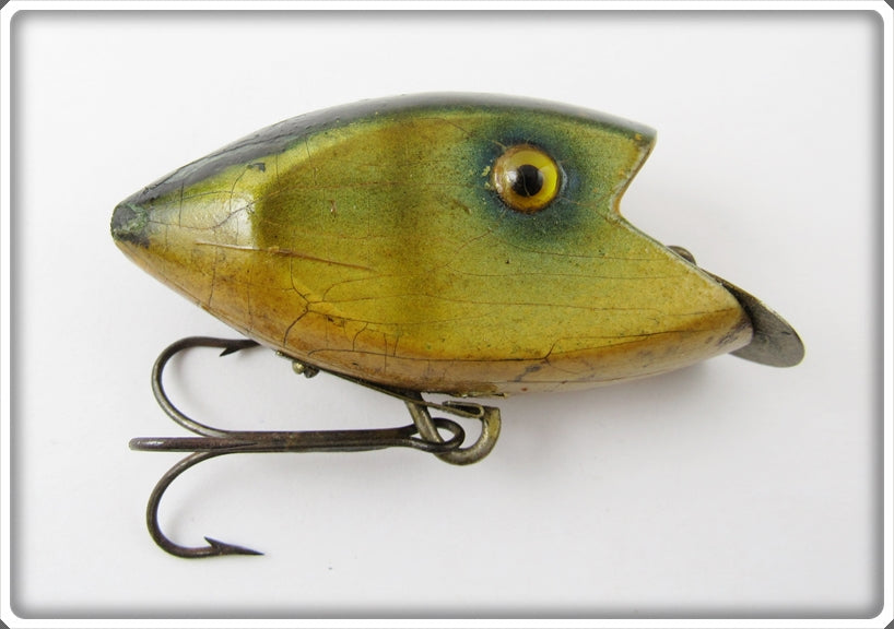Vintage Green-Wyle Co Perch Klipon Lure