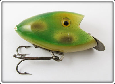 Vintage Green-Wyle Co Frog Spot Klipon Lure
