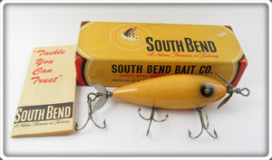 Vintage South Bend Luminous Surf Oreno Lure In Box 963 LUM