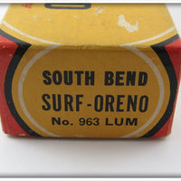 South Bend Luminous Surf Oreno In Box