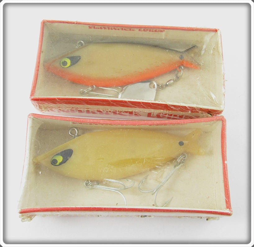 Smithwick Water Gater Pair: Bone & Bone Orange Belly