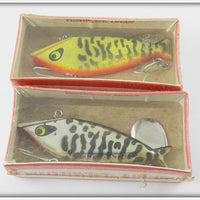 Smithwick Water Gater Pair: Yellow Coachdog & Silver Chrome Coachdog