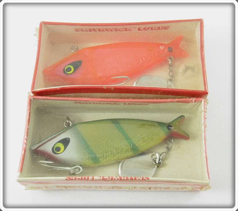Smithwick Water Gater Pair: Transparent Red & Perch
