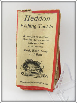 Vintage Heddon 1923 Pocket Catalog