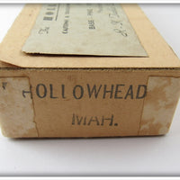 R-K Tackle Mahogany Hollowhead In Box
