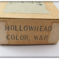 R-K Tackle Red & White Hollowhead In Box