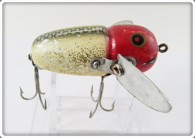 Heddon Red Head Flitter Crazy Crawler 2120 RHF