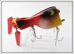 Vintage Coulter Lures Red & Black Thrasher Frog Lure