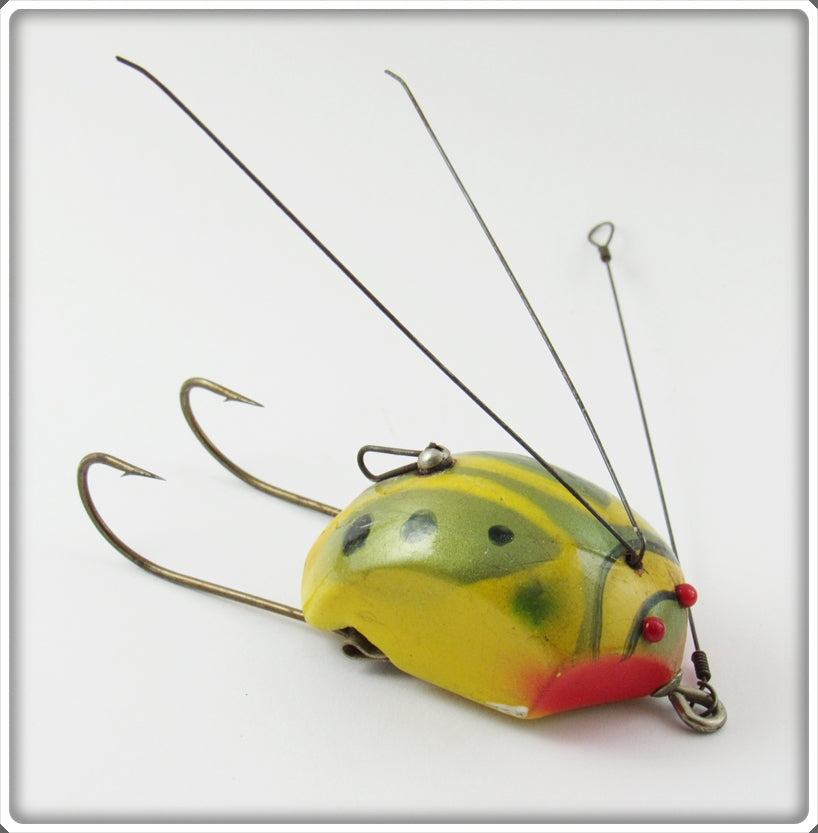 Vintage Creek Chub Bug Finish Weed Bug Lure 2800