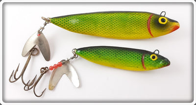 Vintage C Lite Charlie White The Lure Pair