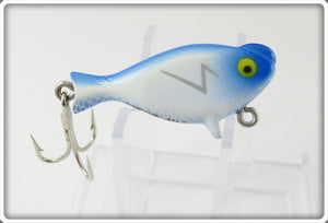 Vintage Heddon Blue & White Top Sonic Lure 300 BH