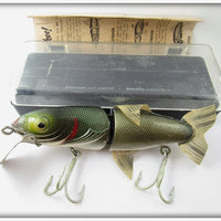 Vintage Naturalure Bait Co Gold Scale King Strikee Lure In Box