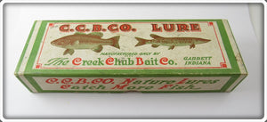 Vintage Creek Chub Box For Red Head White Kingfish Pikie Special KF102