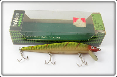 Vintage Heddon Perch Hedd Hunter Minnow Lure In Box 9350 L