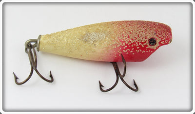 Vintage York Baits Red Head Bead Finish Little Butch Lure