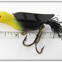 Bass Bird Lure Co Yellow & Black Bass Bird In Box