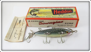 Heddon Green Crackleback 150 In Correct Box 150GCB