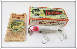 Heddon White Shore Wounded Spook In Correct Box 9140 XRW