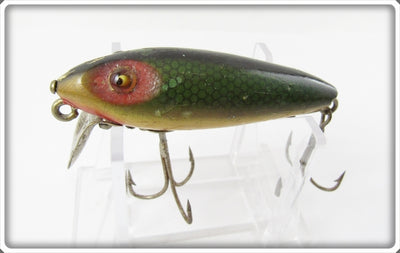 Heddon Green Scale 110 River Runt