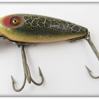 Heddon Green Crackleback 110 River Runt
