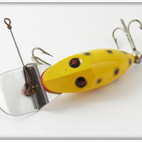 Heddon Yellow Black Spots Tiny Go Deeper Runt