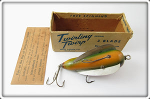 Watt Tackle Co Rainbow Twirling Twirp In Box