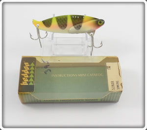 Heddon KCH Yellow/Red Muskie Sonar In Correct Box