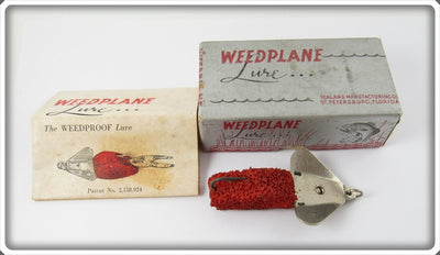 Sealand Mfg Co Weedplane Lure In Original Box