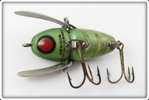Heddon Red Chin Glow Worm Crazy Crawler