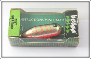 Heddon VCD Shrimp Shiner Tiny Torpedo In Box