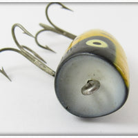 Heddon Yellow Wing Black Bird Chugger Jr
