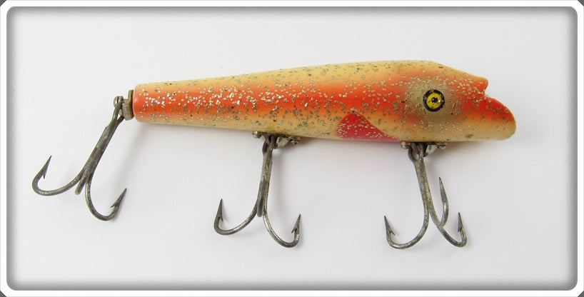 Pflueger Special Order Redside With Glitter Poprite