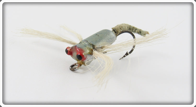 Vintage Peck's Silver Dragon Bug Dragonfly Fly Rod Lure