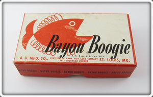 A.D. Mfg Co Empty Box For A Shiner Bayou Boogie