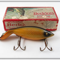 Vintage Heddon Shiner Scale Tadpolly Lure In Box 6009P