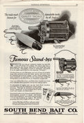 1926 South Bend Lure & Reel Ad