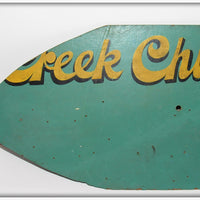 Creek Chub Dealer Display Sign - USA Only Shipping