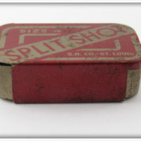 Shapleigh's Split Shot Tin With Split Shots