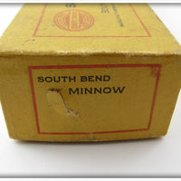South Bend Minnow Empty Intro Box