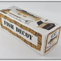 Carl Christiansen Tiger Musky Decoy In Box