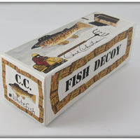 Carl Christiansen Whitefish Decoy In Box