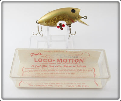Poe's Gold Loco-Motion In Box