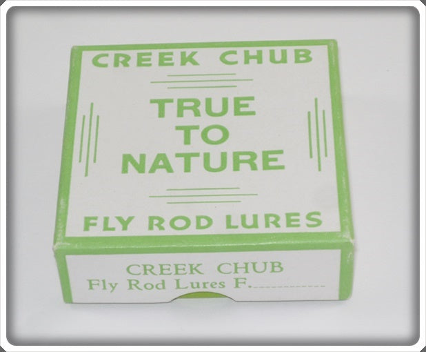 Creek Chub Empty Box For Flyrod Lure
