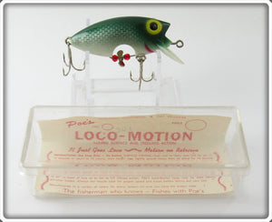 Poe's Green Shad Loco-Motion In Box